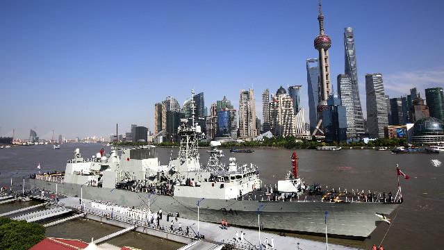 Canadian Frigate HMCS Ottawa (341) arrives in Shanghai for 7-day port visit