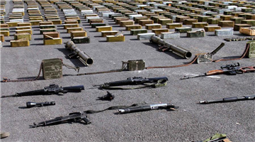 Weapons, munition bound to al-Qaida-linked rebels confiscated in Damascus