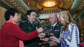 Defense Ministry hosts 2018 Spring Festival reception