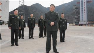 Xi visits BeiDou-3 launch site