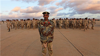 Libyan government forces hold military exercise in western Libya
