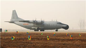 Navy aviation regiment patrols during Spring Festival holiday