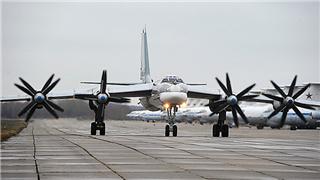 Russian bombers conduct air patrol over Sea of Japan