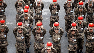 PLA conducts frequent drills during Spring Festival holiday