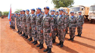 Chinese peacekeeping medical detachment wins UNMISS Green Camp title