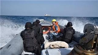 Chinese naval escort taskforce escorts merchant ship Jinda