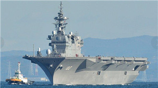 Even become an aircraft carrier, Japanese Izumo helicopter destroyer's combat capability very limited