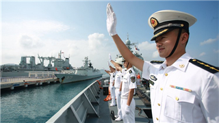 27th Chinese naval escort taskforce returns to China