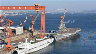 China's first home-made aircraft carrier become focus of attention during the two sessions