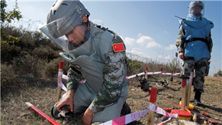 UNIFIL Force Commander praises the work done by Chinese de-mining team