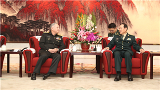 Chinese Defense Minister meets Pakistani Naval Chief of Staff