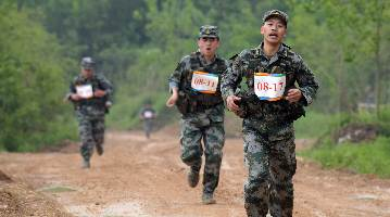 PLA Army holds professional skills competition for staff officers