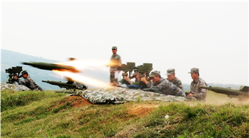 Cadets fire anti-tank missile in live-fire test