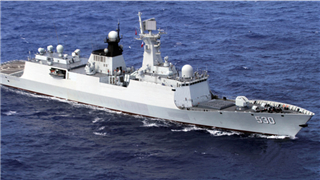 Chinese naval escort ship arrives in Djibouti for replenishment