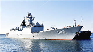 Chinese naval ships make technical stop in Spain