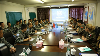 16th Chinese peacekeeping force to Lebanon awarded top citation