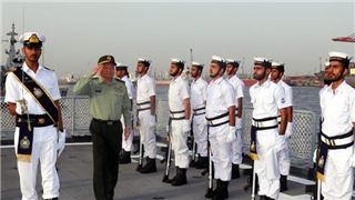 Chinese military official visits Field Commands of Pakistan Navy Listen