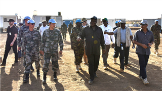 UN delegation visits peacekeeping base built by Chinese peacekeepers