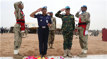 Int'l Day of UN Peacekeepers marked in Sudan