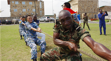 28th Chinese naval escort taskforce ends friendly visit to Cameroon