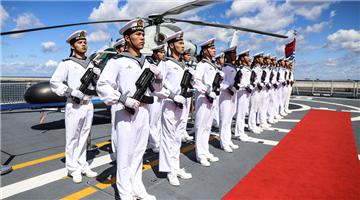 Chinese frigate Binzhou starts five-day visit to Poland