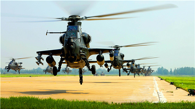 Army aviation brigade conducts flight training