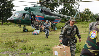 Chinese doctors bring relief to Lao dam victims