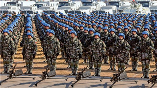 30-year-old Chinese Blue Helmets a valuable asset to Chinese military