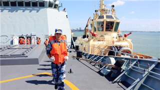 Chinese participation in training exercise