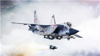 Russian MiG-31 warplane crashes in central Russia