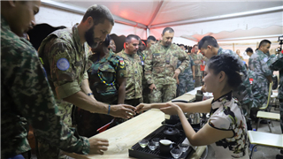 Chinese peacekeeping force hosts cultural event in Lebanon