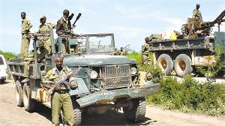 Somali army captures village in southern Somalia