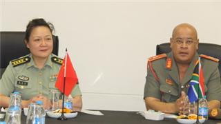 PLA delegation visits South African Defence Logistics Division