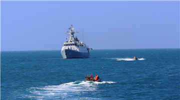 Frigate flotilla conducts maritime operations