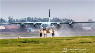 PLA Air Force shows flying hospital version of Y-9 transport plane