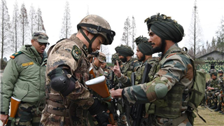 China-India joint army exercise enters tactical coordination phase