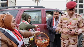 Iraqi Army Day marked in Baghdad