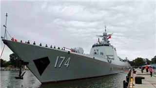 PLA South China Sea Fleet sets sail for far-sea drill