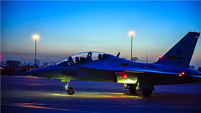 Naval pilot cadets in night flight training