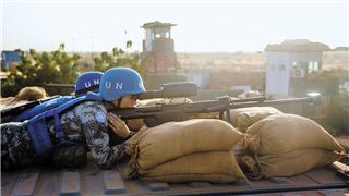 Chinese peacekeeping force to Mali puts on full combat readiness