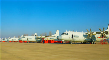 Special electronic warfare aircraft prepare for flight