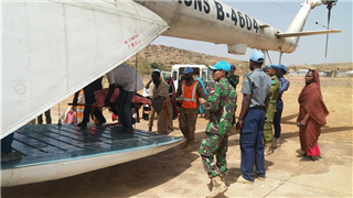 Chinese peacekeeping helicopter rescues injured Sudanese