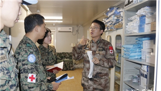Chinese peacekeeping doctors offer specialty treatment to UNIFIL peacekeepers