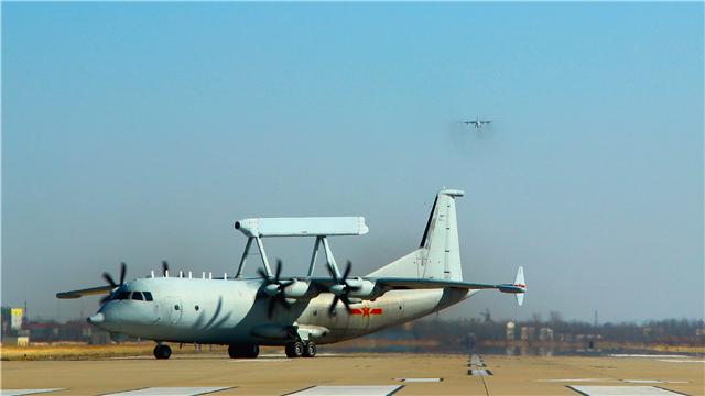 KJ-200 AEW conducts round-to-clock flight training