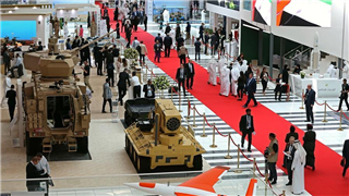 Int'l defense exhibition opens in UAE