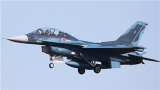 Japanese ASDF fighter jet crashes into sea, 2 crew members rescued
