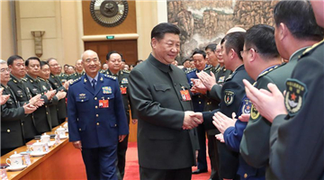 President Xi urges military to strengthen national defense and interests
