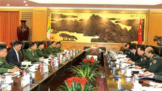 China's Central Military Commission member stresses importance of border security, stability in northern Myanmar