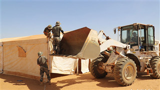 China's peacekeeping engineers to Mali complete MOC camp construction with high standards