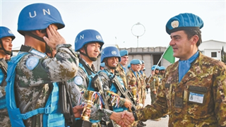 Chinese peacekeepers win top three places in UNIFIL military competition